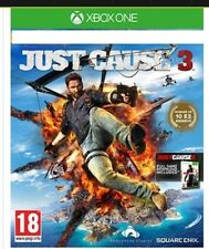 Brand New Sealed JUST CAUSE 3 XBOX ONE WITH Free Just Cause 2 game download Code