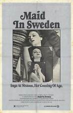 MAID IN SWEDEN Movie POSTER 11x17