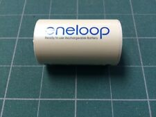 "Sanyo Eneloop "" D""  HR-3UTG HR6 AAA with ""D"" NCS-TG-D adapter NEW"