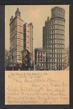 KAPPYS PC241 CIRCA 1900 PARK ROW & ST PAUL BUILDING  NY NY  ROTOGRAPH