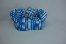 Blythe Barbie Miniature Handmade Furniture sofa couch chair doll house #5