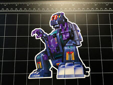 Transformers G1 Trypticon box art vinyl decal sticker Decepticon toy 1980's 80s