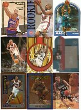 GRANT HILL LOT 90 CARDS ROOKIES INSERTS 1994-95 PISTONS MAGIC HOF TOPPS FINEST