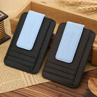 FASHION Men's Leather Wallet Credit Card ID Holder Money Clip Black Brown