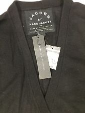 Marc Jacobs 100% Cashmere Cardigan  Sweater,Pockets  Black  , Sz M, NWT