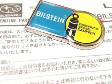 Silver Subaru Genuine OEM Bilstein Emblem BRZ IMPREZA FORESTER WRX STI Legacy