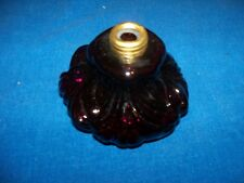 VINTAGE MINIATURE ORNATE DARK PURPLE KEROSENE OIL LAMP LANTERN LIGHT PART