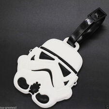 New Star Wars White Stormtrooper Rubber Silicone Travel Luggage Tags