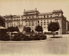 Photo Giorgio Sommer Albuminé Lucerne Suisse Swiss Vers 1880