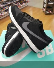 NIKE SB DUNK LOW PRO IW 819674 001 BLACK/GRAPHITE  MEN US SZ 9.5