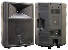 1 New Pyle PPHP1259 500 Watt 12'' 2 Way Full Range Loud PA Speaker System DJ Pro