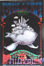 PHIL LESH FILLMORE POSTER Grateful Dead ORIGINAL Bill Graham BGF337 Dave Huckins