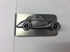 Riley RM ref210 pewter effect car emblem on a stunning Money Clip