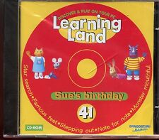 Learning Land PC CD Rom / No.41 - Sue's Birthday - New & Sealed