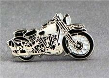 Metal Enamel Pin Badge Brooch Brough Superior Motorbike Ride Vintage Collection
