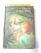 "Vintage  Nancy Drew ""The Clue of The Black Keys""  Vol.28 1971 Children's Book"
