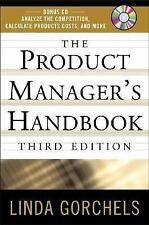 The Product Manager's Handbook by Linda Gorchels (2005 hardcover with CD)