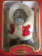 L@@K - BOXED XMAS ME TO YOU TATTY TEDDY BEAR SPECIAL EDITION - STANDING SANTA