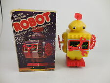 Vintage Go-Float Action Battery Operated Robot in Original Box New MIB Hong Kong