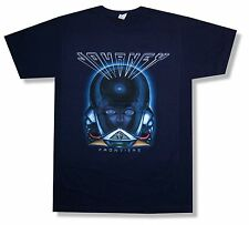 "JOURNEY ""FRONTIERS"" NAVY BLUE T-SHIRT NEW BAND OFFICIAL ADULT SMALL S"