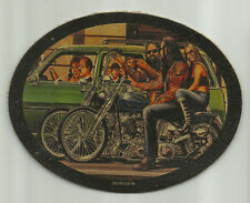 LEATHER DAVID MANN SAT NIGHT SUN MORNING MOTORCYCLE VEST BIKER PATCH EASYRIDERS