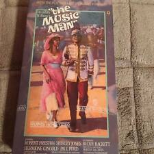 THE MUSIC MAN VHS NEW