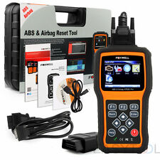 OBD2 Engine + ABS Airbag Reset Tool + SRS Function Code Reader Diagnostic Tool