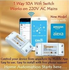Sonoff WiFi Switch Controller for Home Automation with Android & iphone