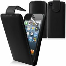 FLIP LEATHER CASE COVER FOR APPLE IPHONE 4 4S  FREE SCREEN PROTECTOR STYLUS