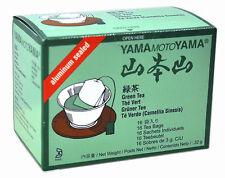 1 paquete de YamaMotoYama Aluminio Sellado Té Verde 48g 16 bolsitas de té