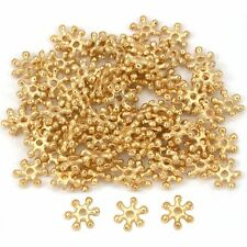 Flower Bali Spacer Beads Gold Plated 7mm Approx 90