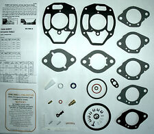 """1963 67 CARB KIT ROCHESTER 1 BARREL CHEVY & GMC TRUCK 215 230 250 292"""" ENGINES"""