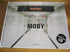 Hardcover Photobook + CD Moby: Destroyed NEU NEW OVP###