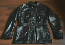 Belstaff Panther jacket leather black size M UK 40
