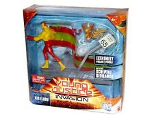 "DC Universe YOUNG JUSTICE Mattel Animated KID-FLASH 6"" Action Figure Set SEALED"