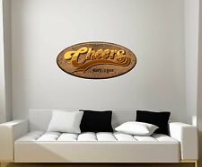Cheers-Mancave-Bar-Repositionable Wall Graphic Decal Sticker-TV
