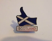 SCOTLAND BADGE THUMBS UP FOR SCOTLAND