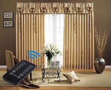 "5-Meter (197"") Remote Control Electric Curtain Tracks with wall switch, free P&P"