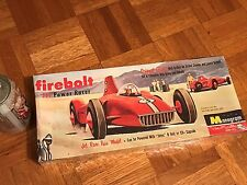 FIREBOLT JET POWER RACER - RACE CAR, Plastic Model Car Kit, NO SCALE LISTED