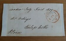 ROBERT PRICE MP HEREFORDSHIRE SIGNED FREE FRONT 19th CENTURY HEREFORD WHIG*