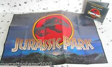 Theme from JURASSIC PARK (1993) LOCANDINA POSTER 57,5 X 40 + PLASTIC BOX,  NO CD
