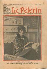 Portrait Princesse Marie-José de Belgique Reine Italie Queen of Italy 1930