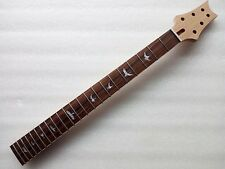 Best unfinished electric guitar parts ,Strong Guitar Neck nice bird inlay