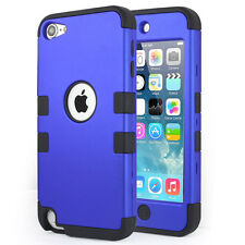 Lightning Sync Data Cable+Armor 3 in 1 Protective Case+Film iPod Touch 6 5th Gen
