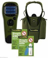 Thermacell Camper's Kit : Mosquito Repellent Appliance, Holster+ 2single refills