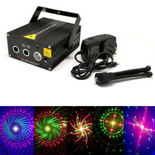 100patterns Unit Laser Stage Lighting Adjustment DJ Party Wedding Club Projector