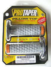Pro Taper Pillow Top Grey / Orange Twist Throttle Grips KTM SX XC EXC SXF XCF