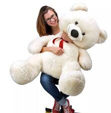GRANDE orsacchiotto Regalo San Valentino Grande Morbido Peluche KID GIRL Friend venditore del Regno Unito