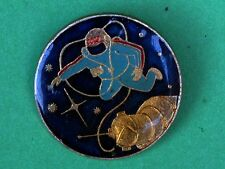 USSR, Soviet, First Human in Open Space, USSR Russian Pin Badge