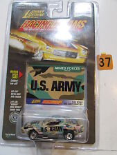 JOHNNY LIGHTNING  RACINGDREAMS ARMED FORCES SERIES U.S ARMY SCALE 1:64